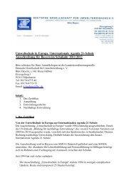 Umweltschule in Europa / Internationale Agenda 21-Schule