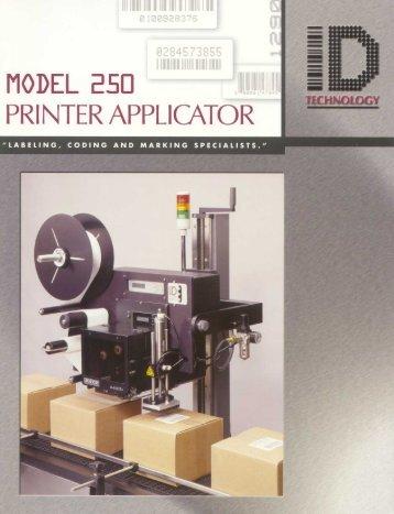 PRINTER APPLICATOR - Alpha Industrial Supply, Inc