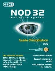 Guide d'installation - Eset
