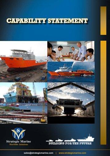 CAPABILITY STATEMENT - Strategic Marine