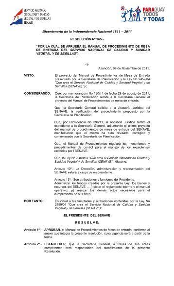 Bicentenario de la Independencia Nacional 1811 – 2011 - Aprosemp