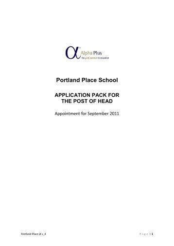 Portland Place School - Eteach