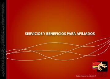BENEFICIOS AFILIADOS - Cámara de comercio e integración ...