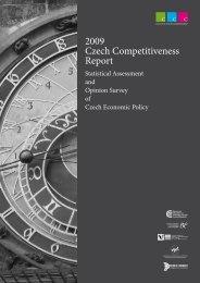 2009 Czech Competitiveness Report - AmCham