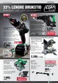 3 års GArANti - Hitachi Power Tools AS - Page 2