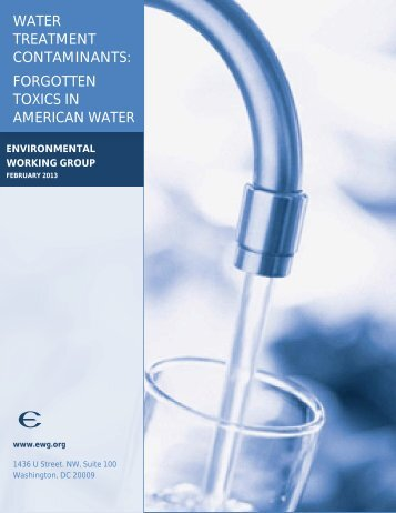 Forgotten Toxins in American Water 2013 - Colorfil