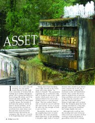 Asset Management - National Environmental Services Center