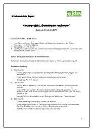 Kletterprojekt Herrenbach Grundschule - JDAV Bayern