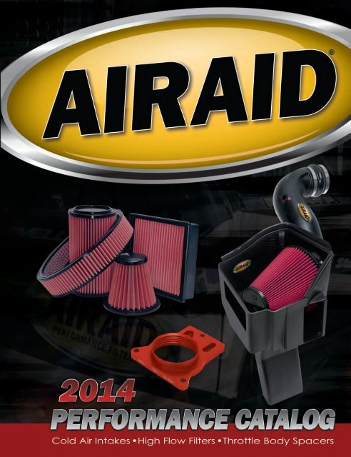 Airaid 351-193 SynthaMax Dry Filter Intake System
