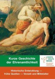 Kurze Geschichte der Ehrenamtlichkeit.pdf - Ehrenamtsbibliothek.de