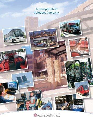 Transportation Value Platform brochure - American Seating
