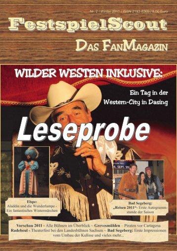 Leseprobe Nr. 2 - FestspielScout.de