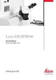 Leica EM HPM100