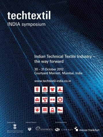 Indian Technical Textile Industry – the way forward - Techtextil India