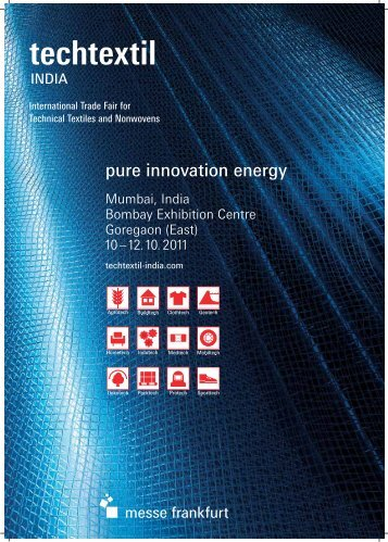 pure innovation energy - Techtextil India