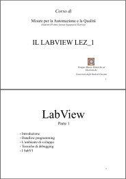 Slides lezione 1 - Docente.unicas.it - Università degli Studi di Cassino
