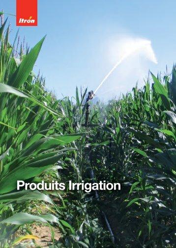 Produits irrigation - Itron