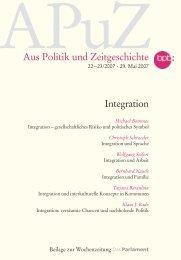 Aus Politik und Zeitgeschichte - Klaus J. Bade