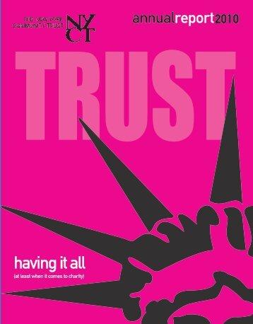 having it all - The New York Community Trust