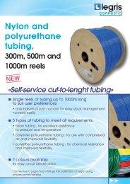 Nylon and polyurethane tubing, - Normapress