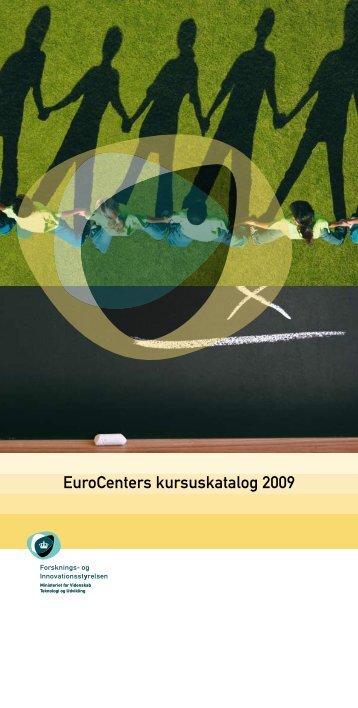 EuroCenters kursuskatalog 2009