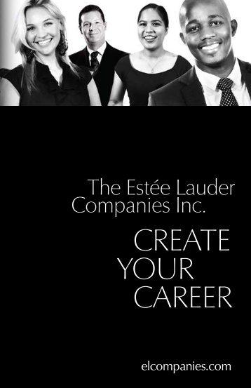 brochure - Estée Lauder Companies