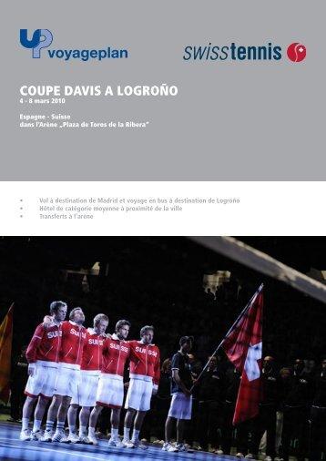 COUPE DAVIS A LOGROÑO - Swiss Tennis