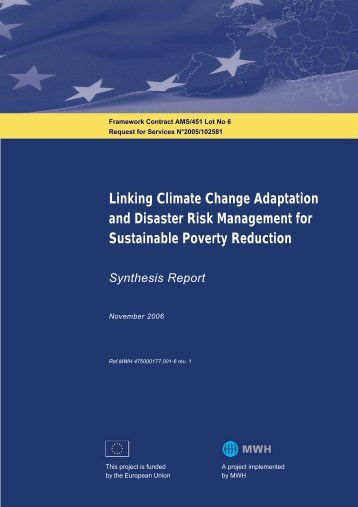 Linking Climate Change Adaptation and Disaster ... - PreventionWeb