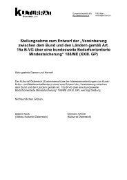 Stellungnahme - Kulturrat Österreich
