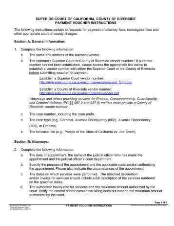 payment voucher for california
