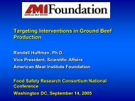 AMIF - FSIS pre-harvest research meeting sept 9