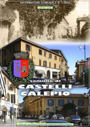 informatore comunale n. 1-2009 - Comune di Castelli Calepio