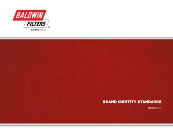 BRAND IDENTITY STANDARDS - Baldwin Filters