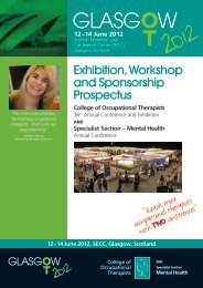 Exhibition Workshop and Sponsorship Prospectus - College of ...