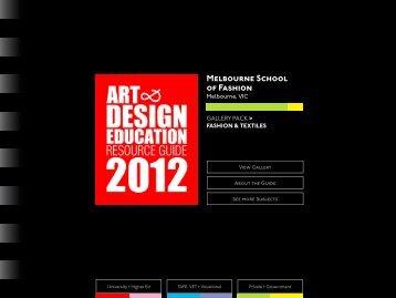 Melbourne School of Fashion - DG Design Network