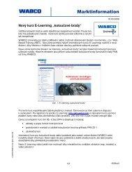 Nový kurz e-learning pro kotoučové brzdy - Penax