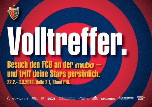Besuch den FCB an der – und triff deine Stars persönlich.