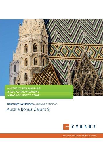 Austria Bonus Garant 9 - Cyrrus