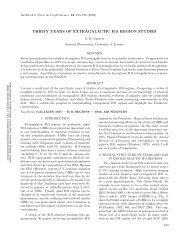 THIRTY YEARS OF EXTRAGALACTIC H II REGION STUDIES