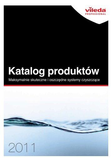 Katalog produktów - Vileda Professional