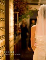 WEDDINGS & CEREMONIES - PUBLIC Restaurant