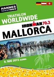 Hannes Hawaii Tours - IM 70.3 Mallorca 2015 - DE