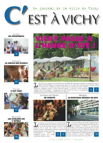 Journal de la Ville N °65 - Vichy