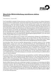 Resolution zur bäuerlichen Milchviehhaltung - Thilo Hoppe , MdB