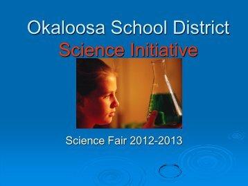 Okaloosa School District Science Initiative - Okaloosa County ...