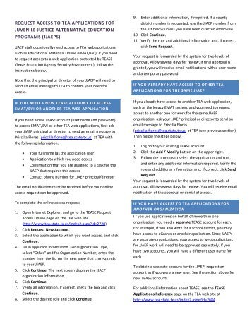 jjaeps - TEA - Home School Information - Texas Education Agency