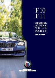 F10/F11 Parts & Accessory - BMW Alpina