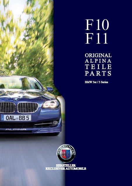 3208b626f06a F10 F11 Parts   Accessory - BMW Alpina