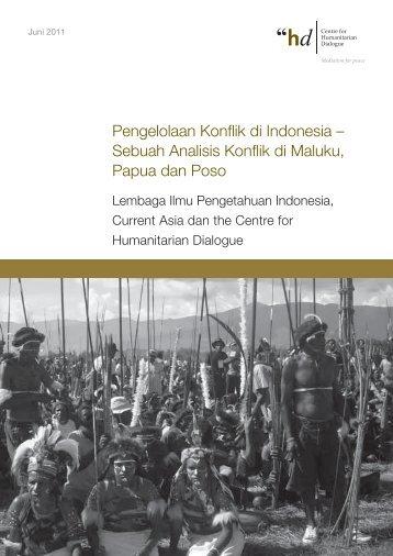 Pengelolaan Konflik di Indonesia - Centre for Humanitarian Dialogue