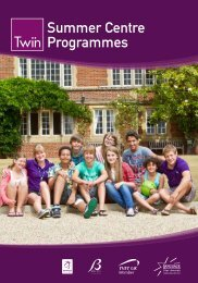 Twin Summer Centres Brochure